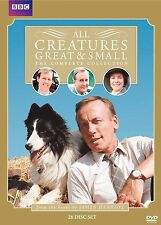 All Creatures Great & Small The Complete Collection DVD Set Series TV Show Box R