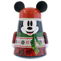 Disney Parks Santa Mickey Mouse Cookie Tin Walker Christmas Holidays 2018 New