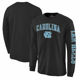 North Carolina Tar Heels Distressed Arch Over Logo Long Sleeve Hit T-Shirt -