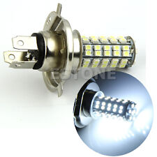 H4 3528 68-SMD LED 6500K 310-Lumen White Fog Light Bulb Headlight Car DC 12V
