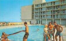 VA, Virginia Beach  MARINER RESORT MOTOR INN  Teens~Pool  ROADSIDE 1967 Postcard