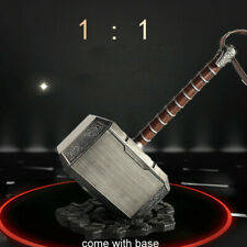 The Avengers Thor Hammer 1:1 Scale Mjolnir Replica With Stand Base Cosplay Prop