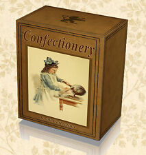 Sweets Confectionery 100 Rare Recipe Books on DVD Candy Chocolates Bake Cake A8