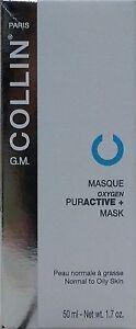 G.M. Collin Oxygen Puractive + Mask TESTER - 50 ml / 1.7 oz New EXP 12/2019