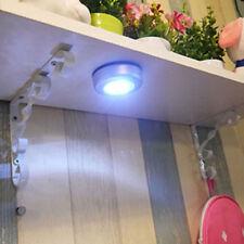 1x3LED Touch Push Licht Selbstklebend Lampe Leuchte Schrankleuchte Stick & Push