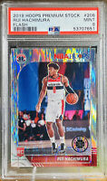 Rui Hachimura 2019-20 NBA Hoops Flash RC Rookie Silver Prizm 206 Non Auto PSA 9