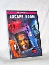 Escape Room (DVD, 2018) NEW Adam Robitel Taylor Russell Deborah Ann Woll Logan