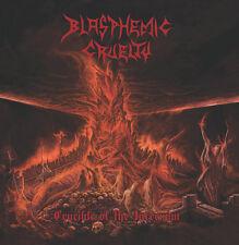Blasphemic Cruelty-Crucible of the Infernum, Arancione/splatter Edition (USA), LP