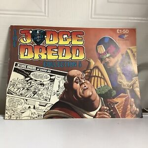 The Judge Dredd Collection 5 Paperback Book Fleetway 1990