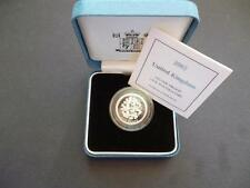 2002 SILVER PROOF £1 COIN HOUSED IN THE ROYAL MINT CASE WITH C.O.A 2002 POUND
