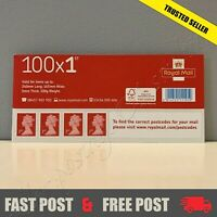 1st Class Stamps 100 New GENUINE Self-Adhesive First HOT BUY Postage CONVENIENCE