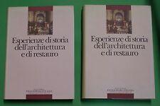 Spagnesi - Esperienze di storia dell'architettura e di restauro - Treccani 1987