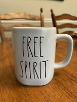 Rae Dunn By Magenta - LL FREE SPIRIT - Pastel Blue Ceramic Coffee Mug