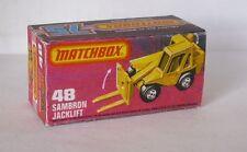 Repro box MATCHBOX superfast Nº 48 sambron jacklift