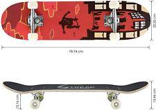 Skateboard für Kinder Jugendliche Erwachsene Skateboard Jugendliche Cruiser 79cm