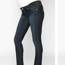 Paige Maternity Skyline Skinny Carson Ankle Jeans    27 x 28""