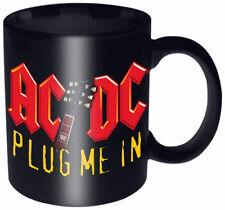 "AC/DC - ""Plug Me In"" - Cup -  Mug - Tasse - Kaffeebecher  Keramik  300ml"