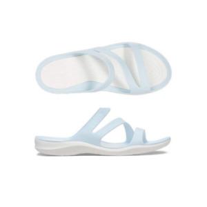 Womens Crocs Swiftwater Sandal Mineral Blue Sandal Flip Flop