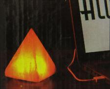 Himalayan Salt Pyramid USB Lamp by Aloha Bay