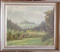 ::MELANIE ALICE JOOß *1883 Stuttgart °Hohenrechberg bei Schwäbisch-Gmünd Ölbild