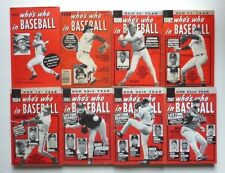 Lot of 12 Who's Who In Baseball 72, 82, 90, 92, 94, 2003, 05, 07, 08, 09,10, 11