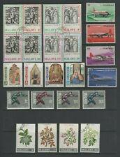 Malawi 1971 / 1972 Used Sets - Aircraft, Olympics, Xmas, Shrubs & Trees, Easter