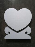 Styropor Herz + Ständer 35x5 cm Floristik Vorlage Arbeitsmitteln Zubehör Maiherz