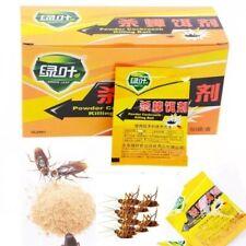 10Pcs Pro Cockroach German Roach Gel Bait Powder Effective Pest Control Killer