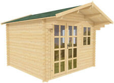 10x10 All Natural Wood Garden Shed Kit - play, pool house, storage shed   Whales