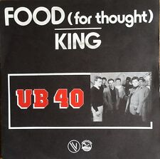 "UB40 - Food (for thought) / King - Vinyl 7"" 45T (Single)"