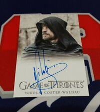 2020 The Complete Game of Thrones Nikolaj Coster-Waldau FB Autograph