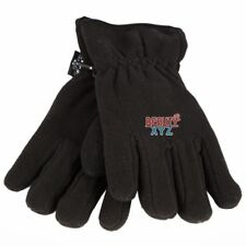 Woman's Black Winter Thick Polar Fleece Thinsulate 3M Warm Snow Ski Hike Gloves