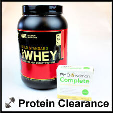 Optimum Nutrition 100% Gold Standard Whey 908g + PhD Woman Complete BBE 03/2018