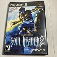 Soul Reaver 2 (Sony PlayStation 2, 2001) PS2 Complete Video Game Free Ship