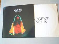 Argent - NEXUS (Lp) Press USA 1974 Busta interna originale con testi. Cut Corner