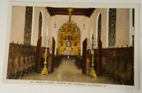 Vintage CALIFORNIA postcard MISSION INN St Francis Chapel Riverside CA 1940s