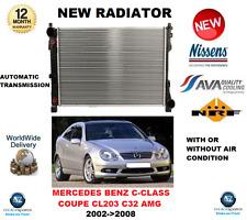 PARA MERCEDES BENZ C CLASS COUPE CL203 C32 AMG 2002->2008 RADIADOR CALIDAD OE