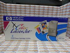 HP LaserJet C4150A Cyan Print Cartridge in Retail Packaging