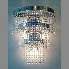 Huge Large Lead Crystal Glass Chandelier Wall Light 6 Lamps Lighting  Custom/W6