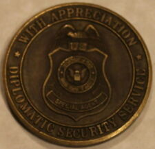 Department of State Diplomatic Security Service Appreciation Challenge Coin