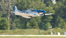 Giant Pica  1/5 Scale American WW-II P-51D Mustang Plans (No Templates) 89ws