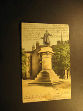 Cincinnati Oh., Statue of President Garfield,  used postcard about 1906