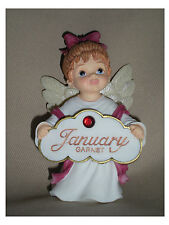 BIRTHSTONE ANGEL FIGURINES - SET OF 12 PIECES  - 1 OF EACH MONTH