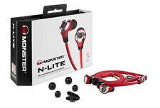 New listing Monster N-Lite In-Ear Only Headphones - Red