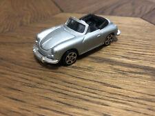 Maisto Porsche 356 Convertible Silver Diecast Scale Model Mint