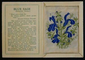 BLUE SAGE Domestic Virtue Kensitas Silk Flower 2nd Series Medium