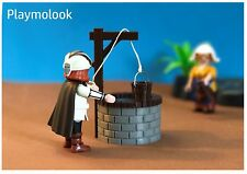 POZO - WATER WELL PUITS MINIATURE - FIGURAS PLAYMOBIL NO INCLUIDAS BELEN CUSTOM