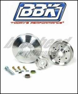 BBK Performance 1555 Underdrive Pulley Kit 1996-2001 Ford Mustang GT Cobra 4.6L