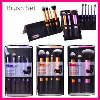 Pro Real Techniques Makeup Brush Starter Kit Eyeshadow Eyeliner Lip Brush Tool