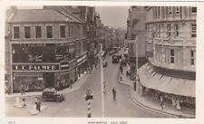 UK NORTHAMPTON GOLD STREET TOKIM REAL PHOTO POSTCARD CIRCA 1947